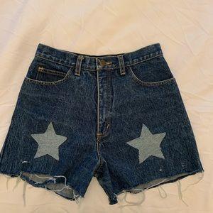 Vintage guess denim jean shorts Guess